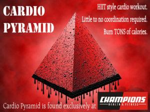 CARDIO PYRAMID DRIPPING PROMO