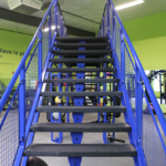 Stairs in the TRX Room